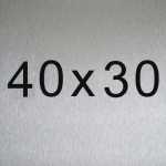 Lámina 40x30cm